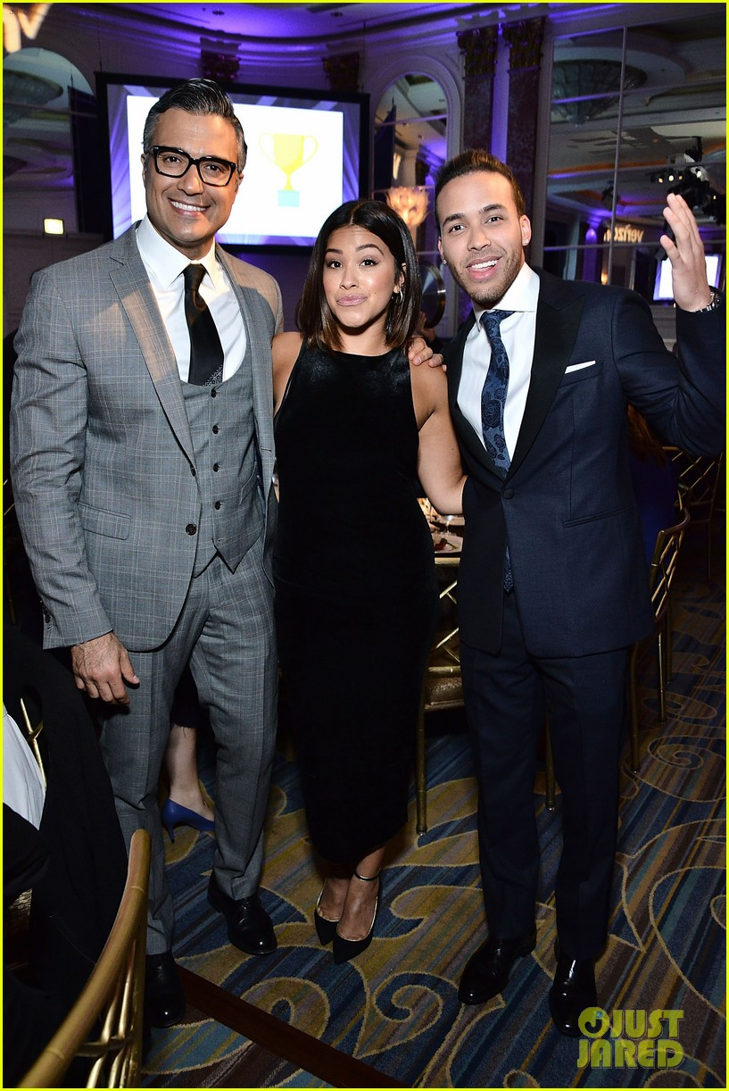 gina rodriguez wilmer valderrama plaey center tribute to hispanic achievements 14
