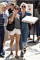julianne hough picks up pizza at the grove 16