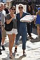 julianne hough picks up pizza at the grove 18