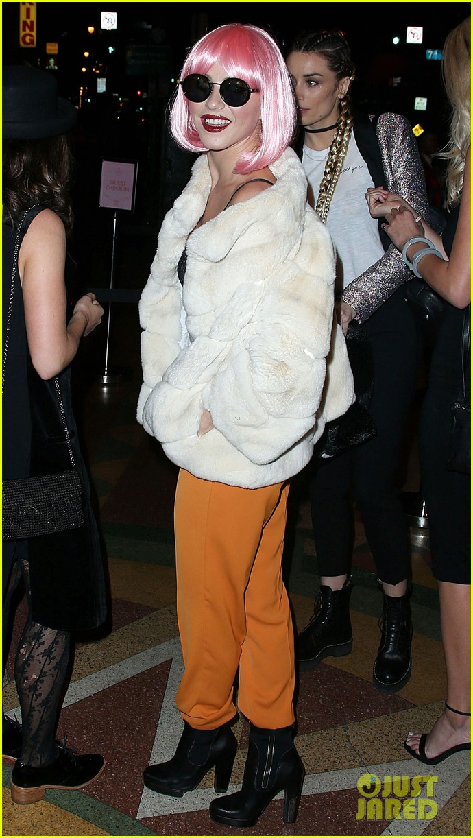 Julianne Hough Gets Into Costume For Halloween Charity Event