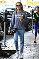 kiernan shipka iced coffee beverly hills 09