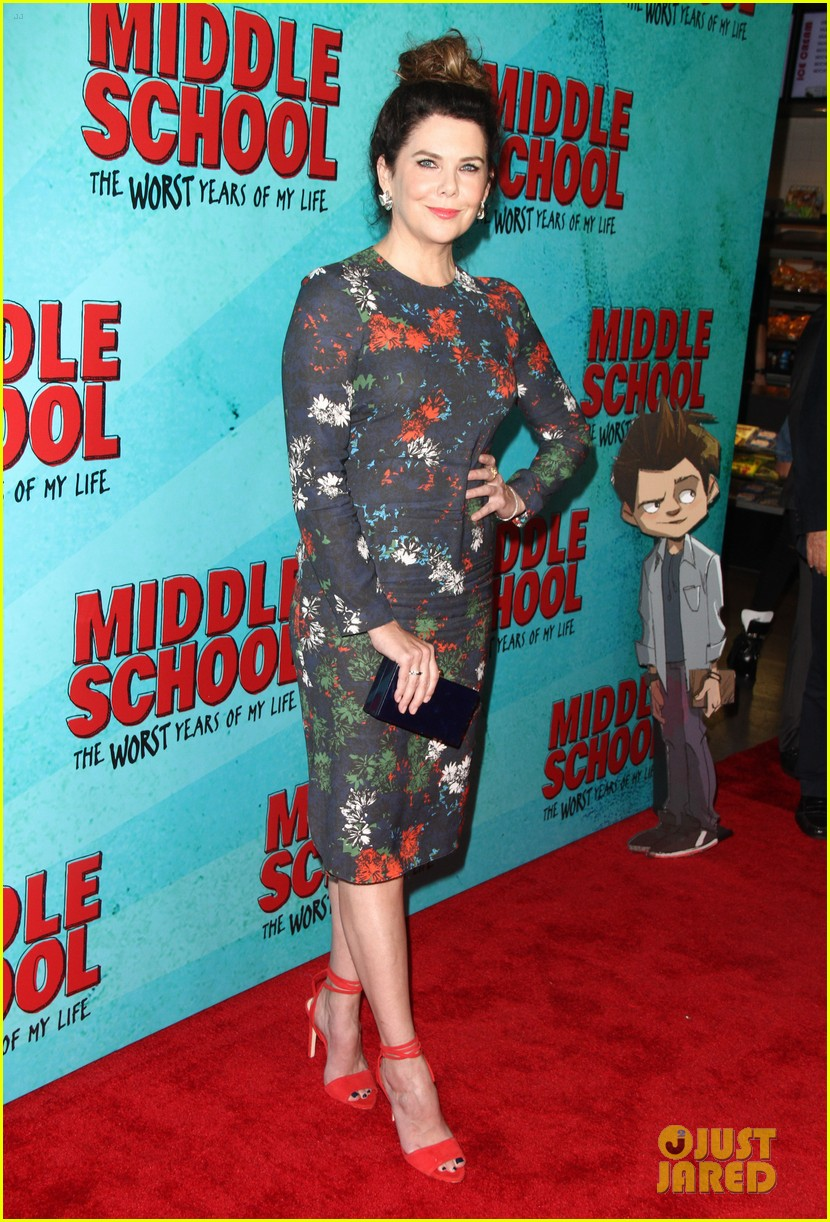lauren graham middle school movie la mamarazzi premieres 13