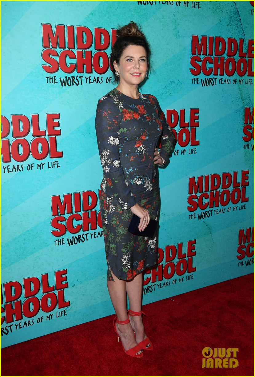 lauren graham middle school movie la mamarazzi premieres 32