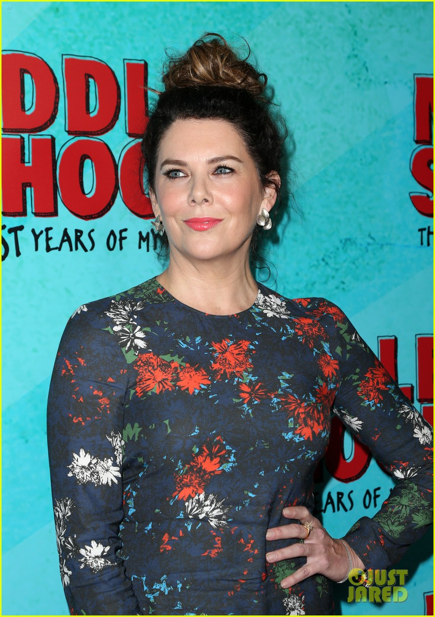 lauren graham middle school movie la mamarazzi premieres 33