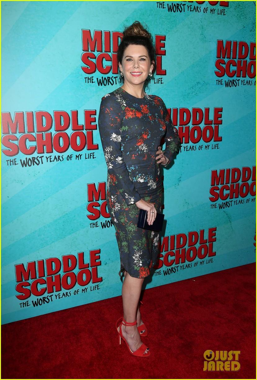 lauren graham middle school movie la mamarazzi premieres 34
