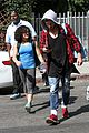 laurie hernandez val chmerkovskiy curly hair sunday dwts practice 05