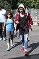laurie hernandez val chmerkovskiy curly hair sunday dwts practice 13