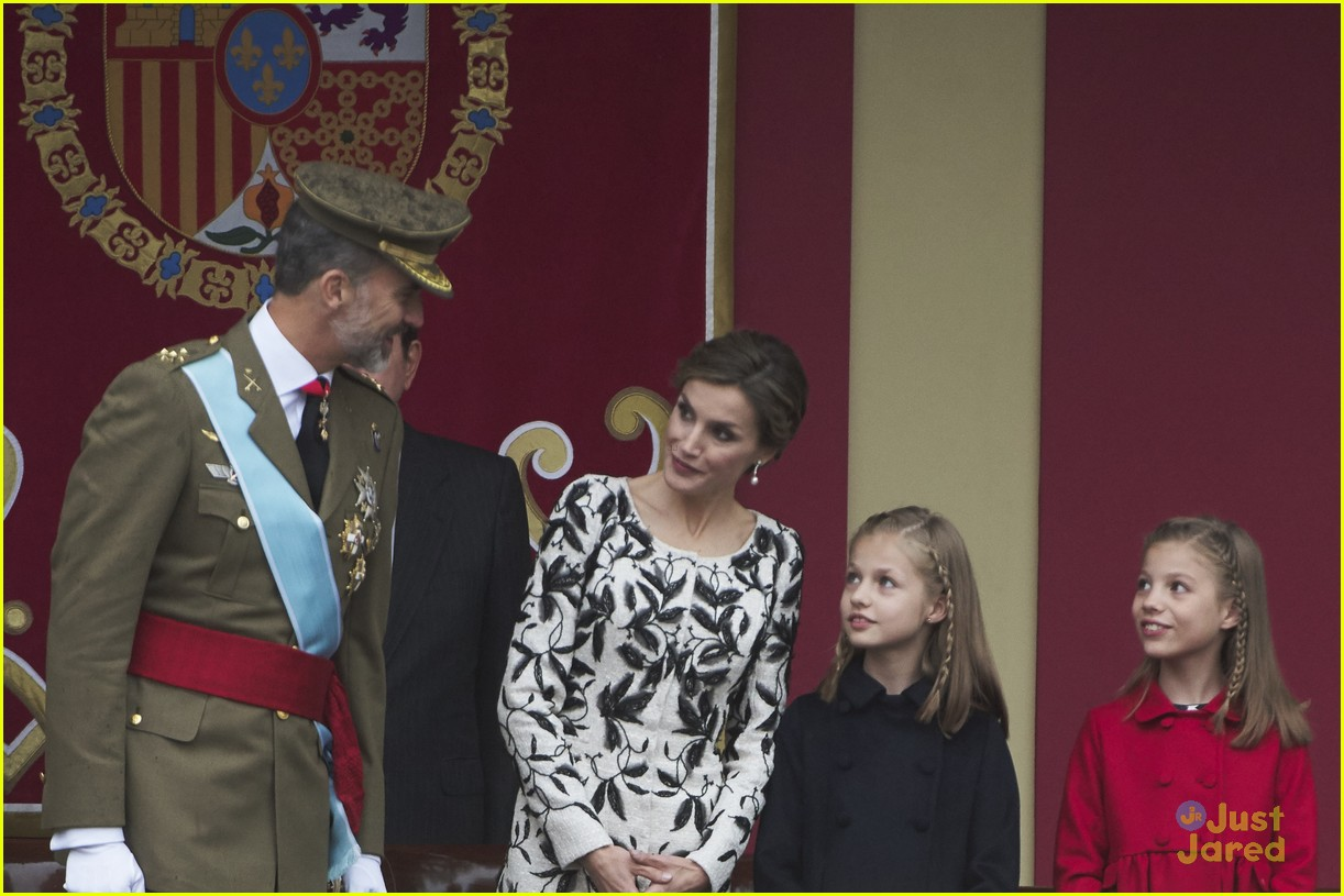 leonor sofia spain national day celebrations 01