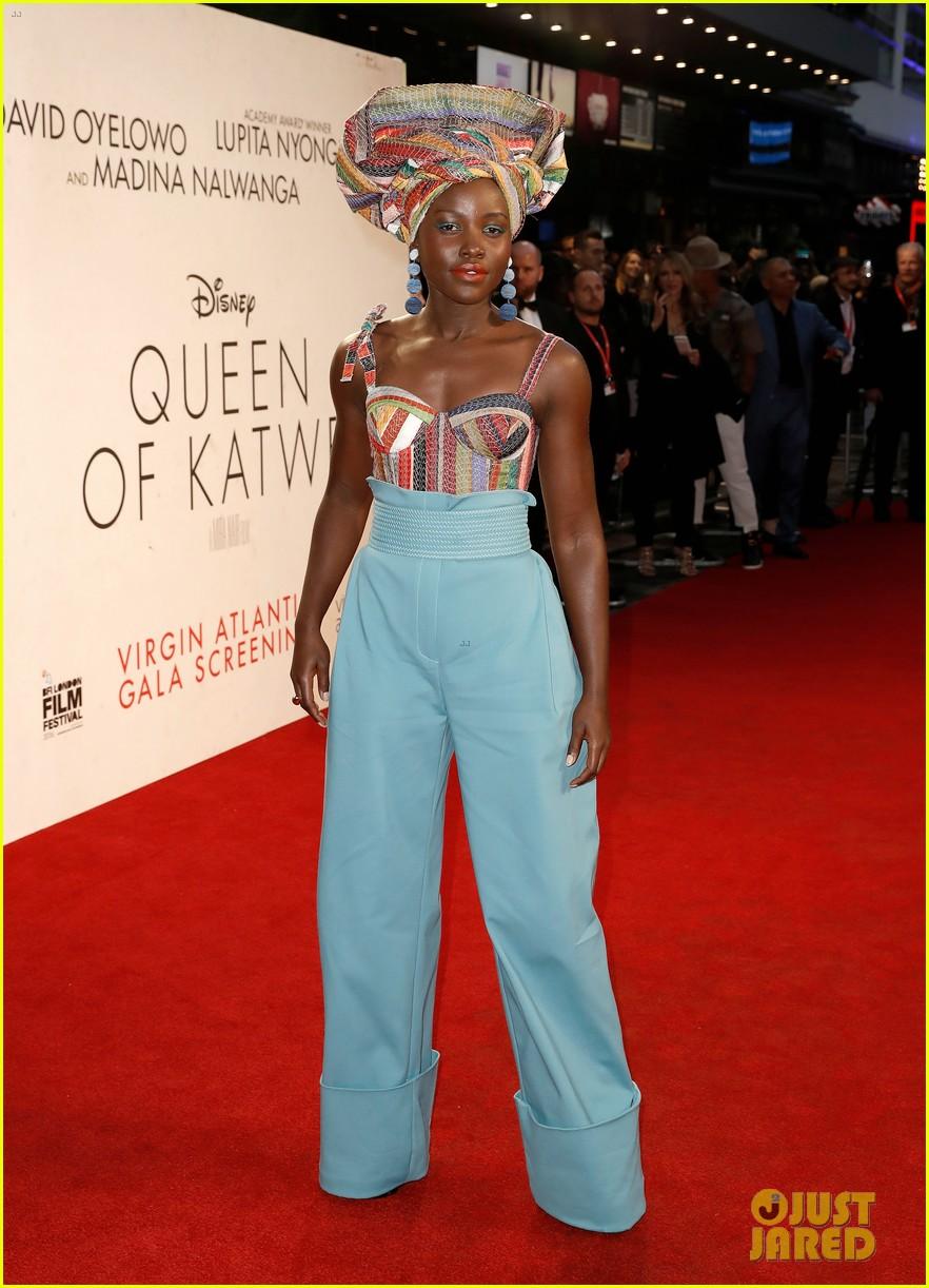 lupita nyongo john boyega premiere queen of katwe bfi london 01