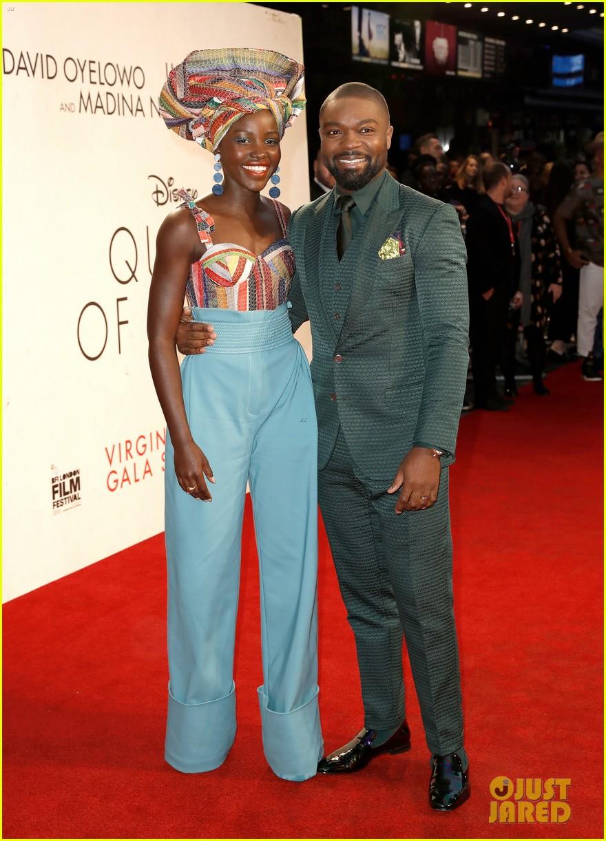 lupita nyongo john boyega premiere queen of katwe bfi london 04