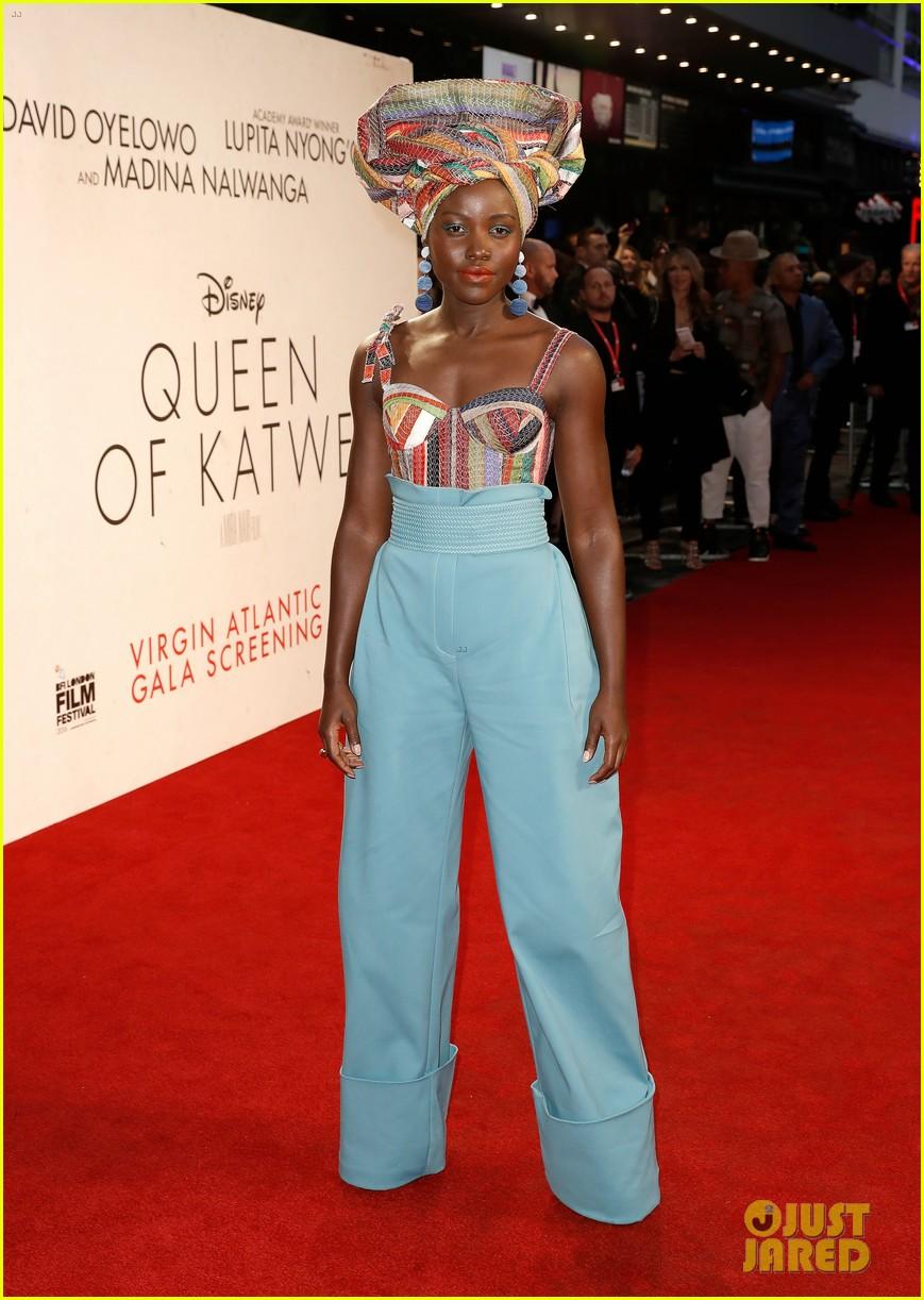 lupita nyongo john boyega premiere queen of katwe bfi london 09