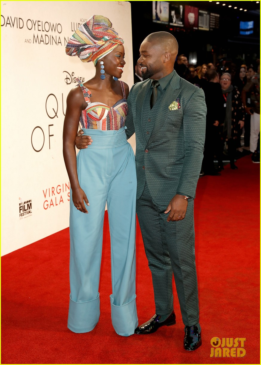 lupita nyongo john boyega premiere queen of katwe bfi london 10