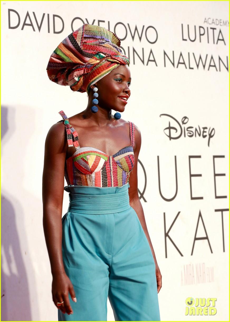 lupita nyongo john boyega premiere queen of katwe bfi london 14