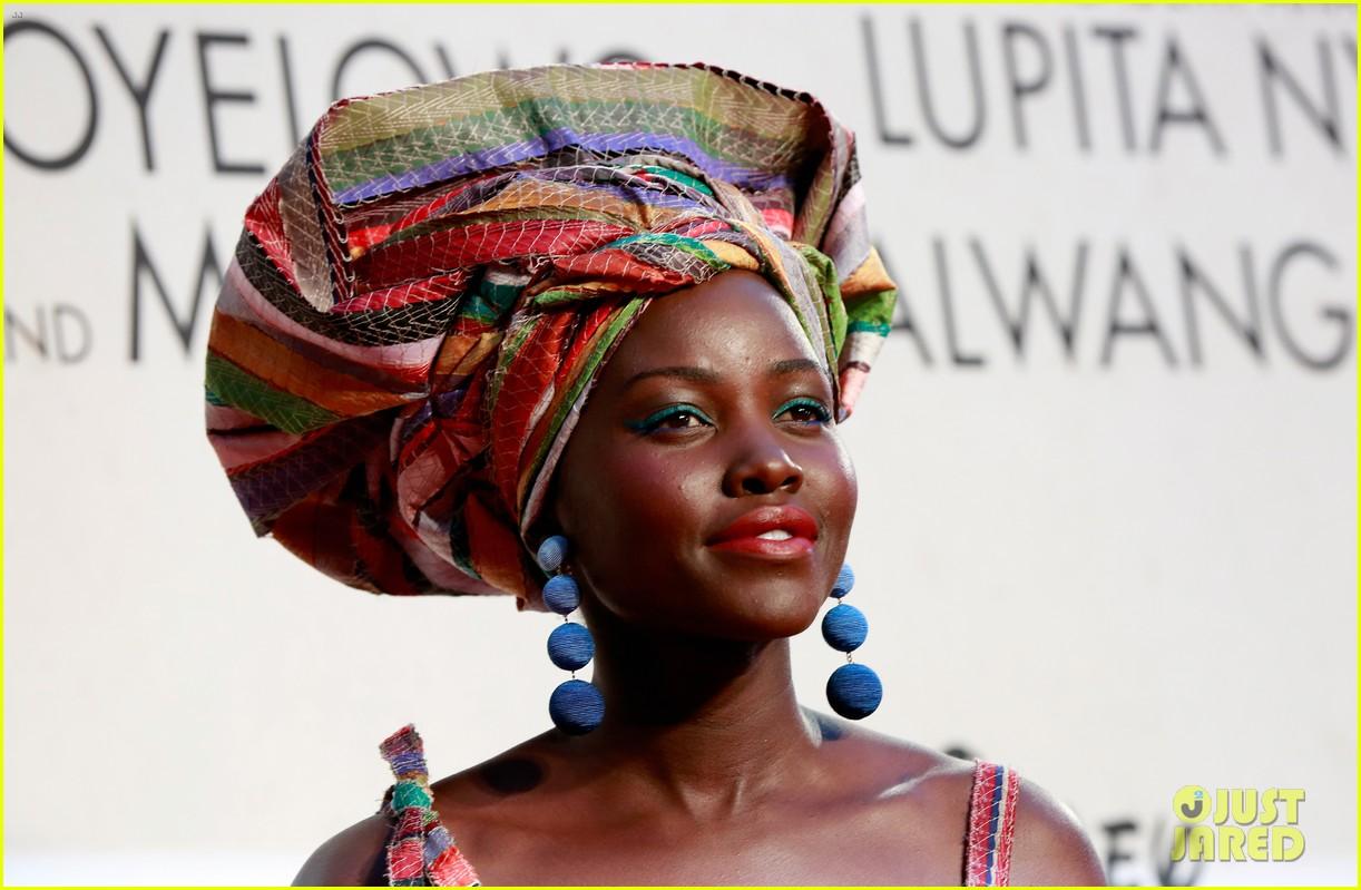 lupita nyongo john boyega premiere queen of katwe bfi london 15