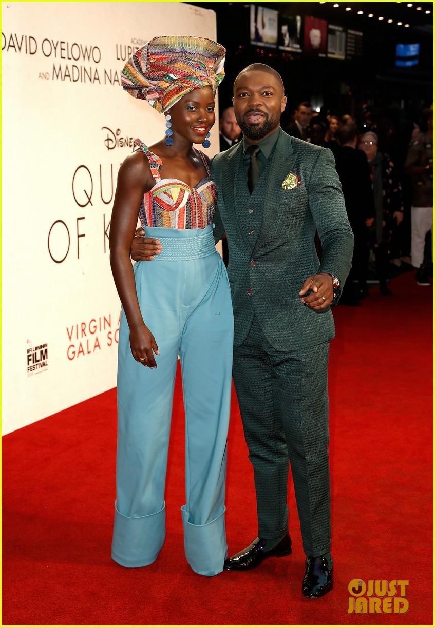 lupita nyongo john boyega premiere queen of katwe bfi london 16