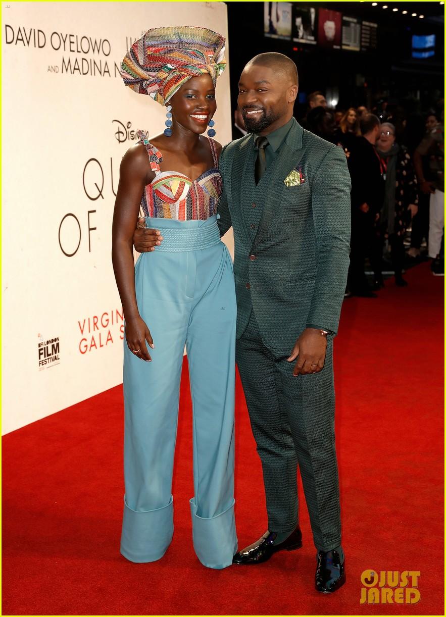 lupita nyongo john boyega premiere queen of katwe bfi london 17