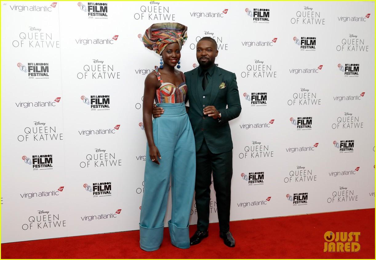 lupita nyongo john boyega premiere queen of katwe bfi london 21