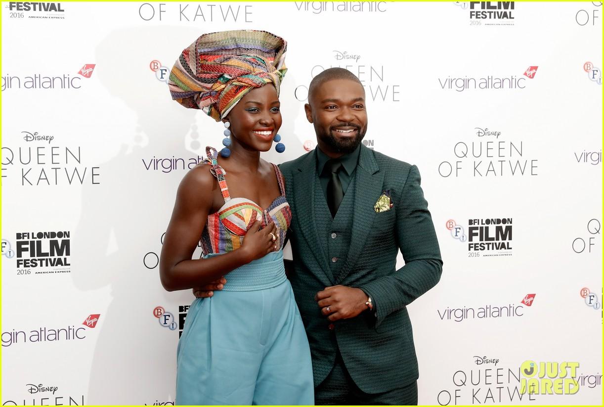 lupita nyongo john boyega premiere queen of katwe bfi london 22