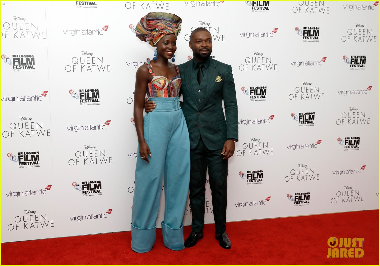 lupita nyongo john boyega premiere queen of katwe bfi london 23