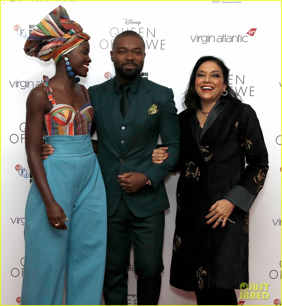 lupita nyongo john boyega premiere queen of katwe bfi london 24