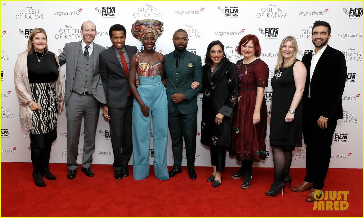 lupita nyongo john boyega premiere queen of katwe bfi london 26