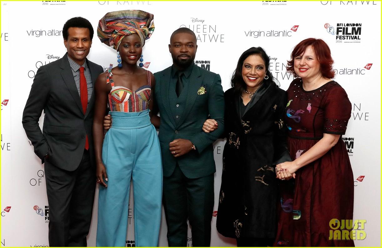 lupita nyongo john boyega premiere queen of katwe bfi london 28