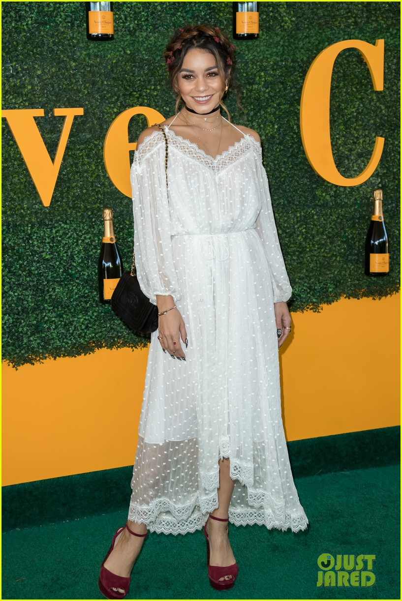 zoey deutch lea michele vanessa hudgens polo classic more 21