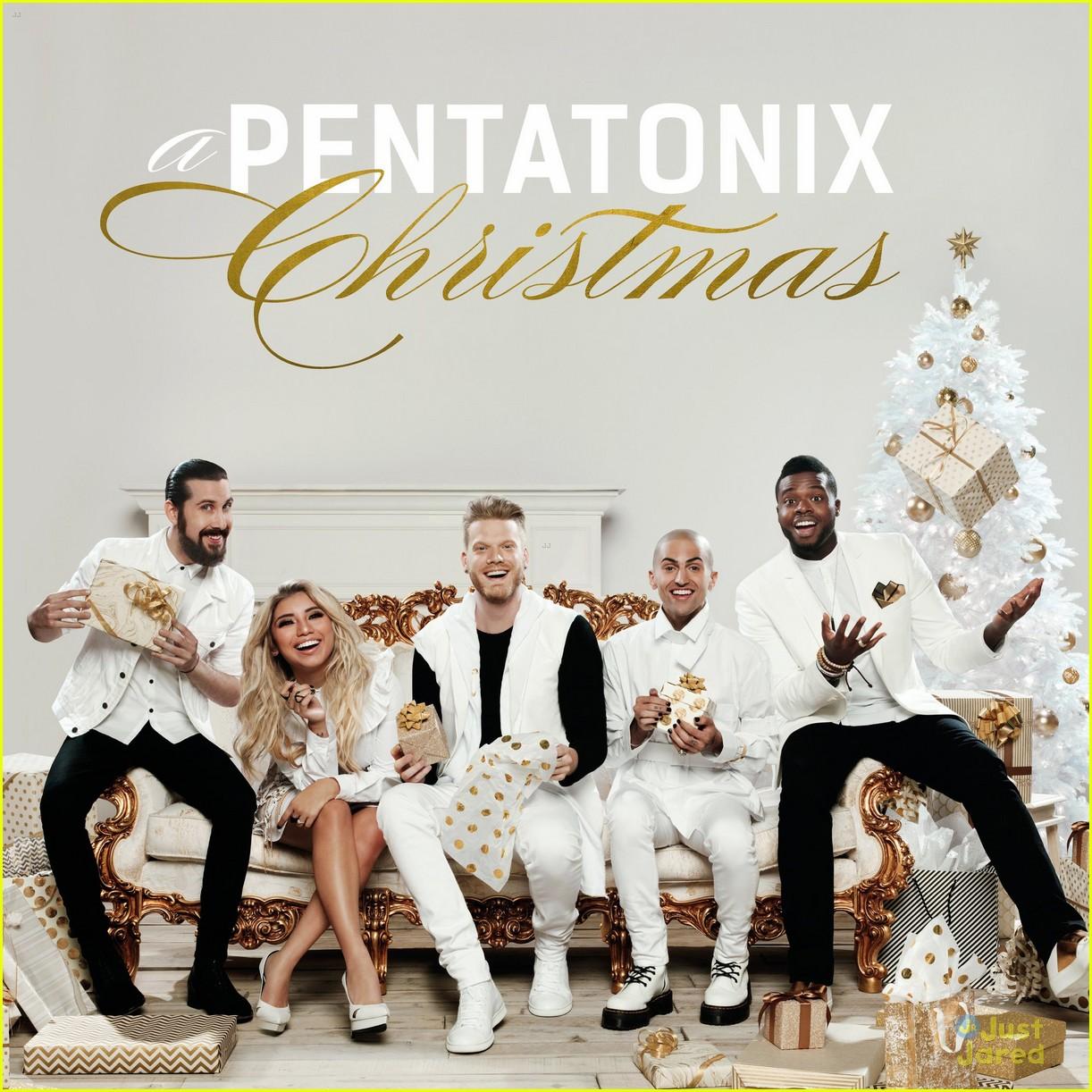 pentatonix christmas album cover track list 01