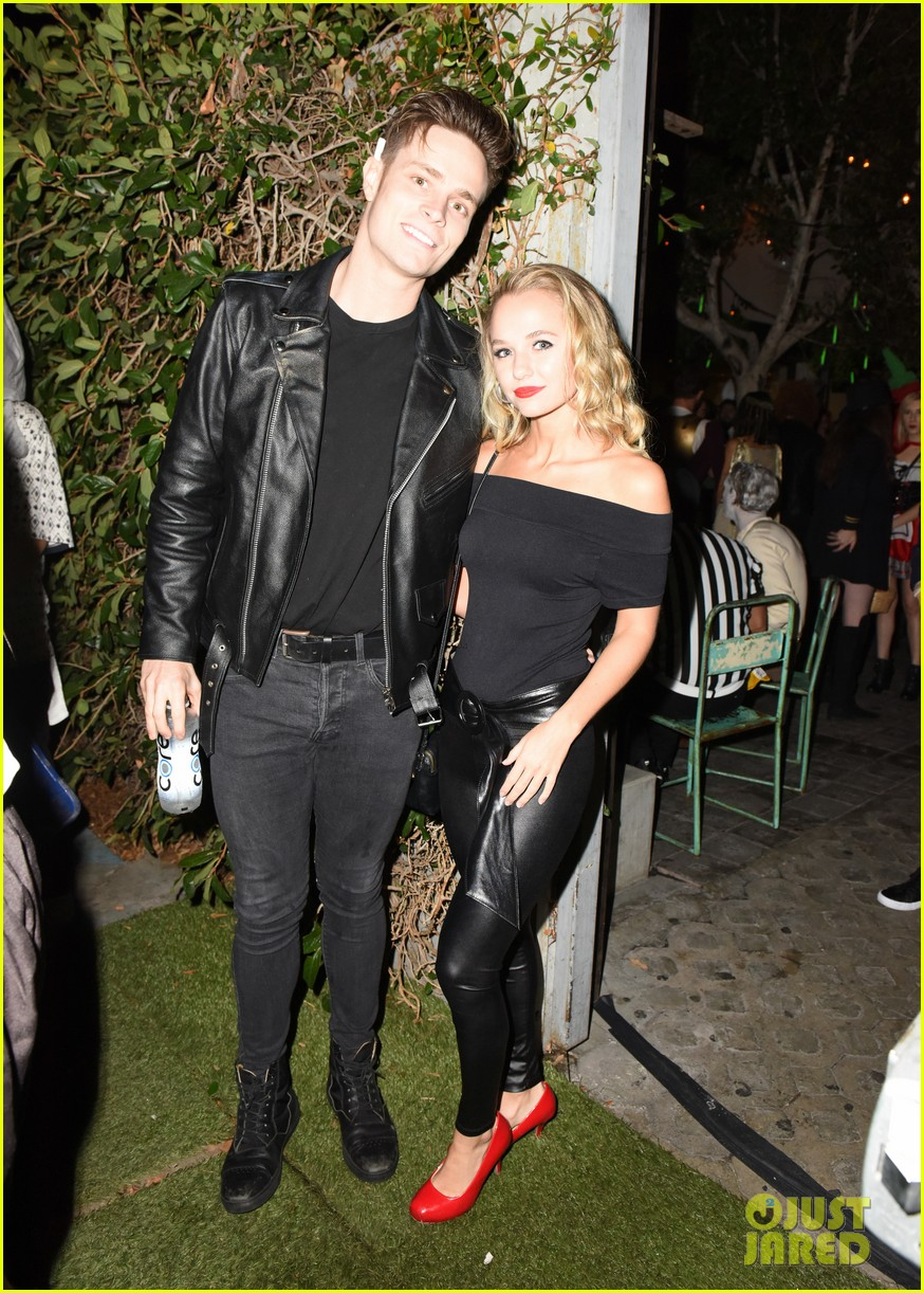 ross lynch courtney eaton couple up at just jared halloween party 10