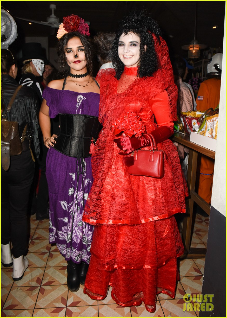 ross lynch courtney eaton couple up at just jared halloween party 15