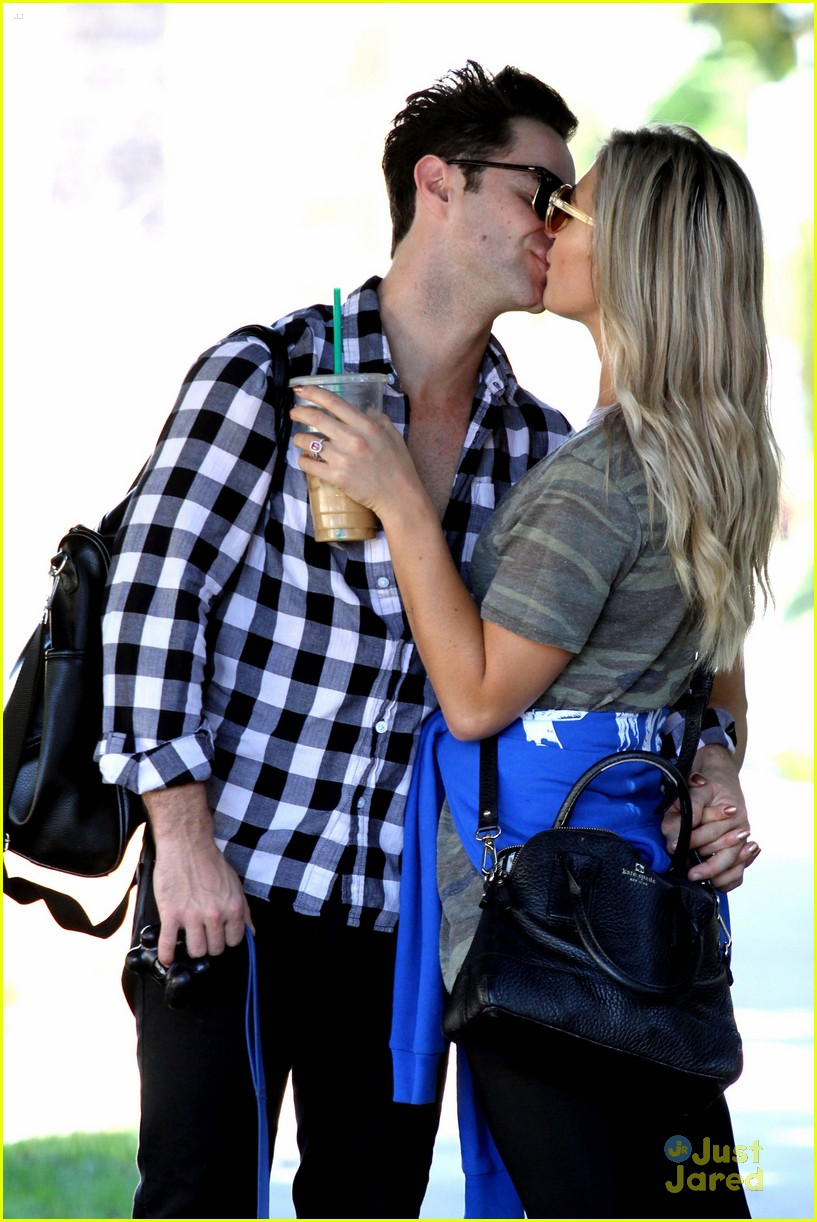 emma slater sasha farber kiss stroll engagement quotes 04
