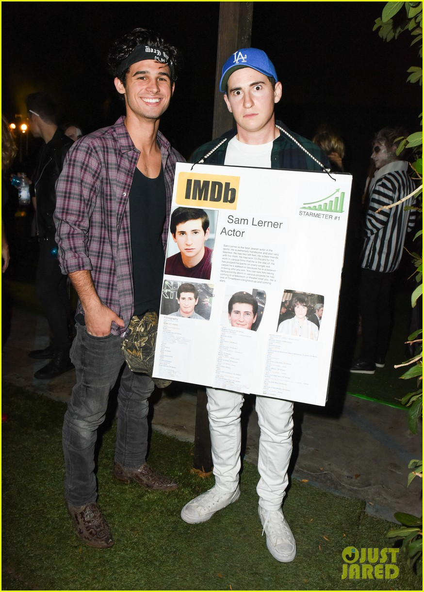 cody christian dylan sprayberry just jared halloween party 11