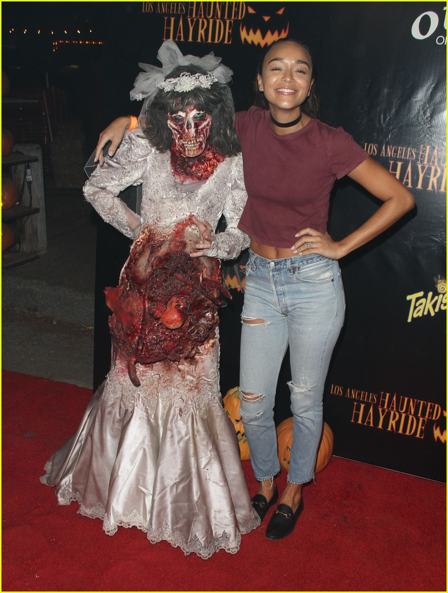 ashley tisdale jamie chung halloween party 05