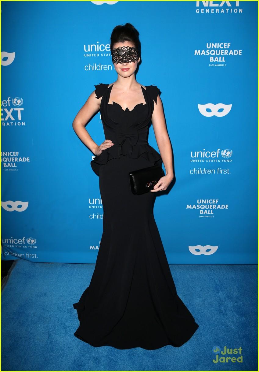 Vanessa Marano Glams Up For UNICEF\'s Masquerade Ball Just Days ...