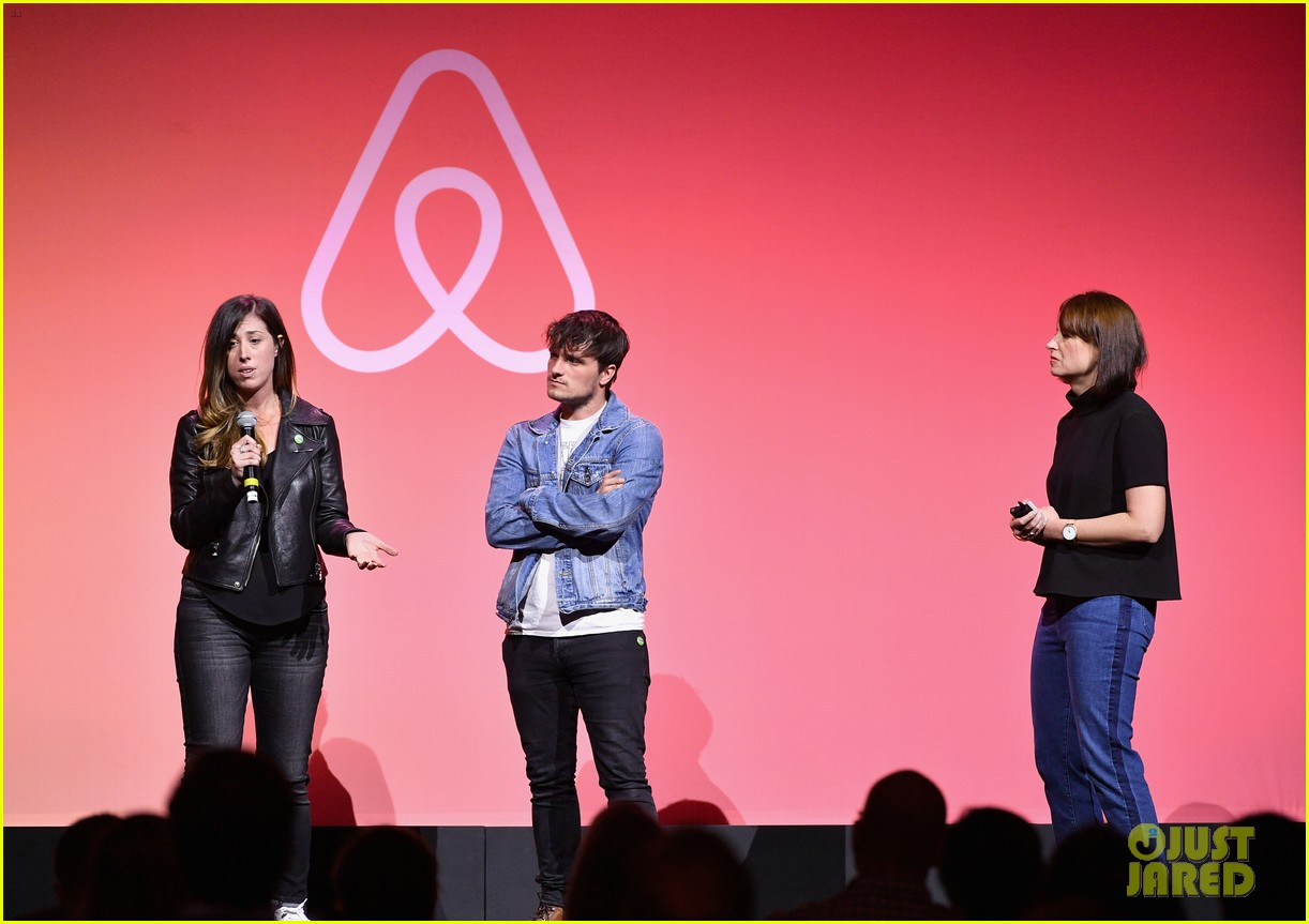 josh hutcherson supports lgbt community at airbnb open la 09