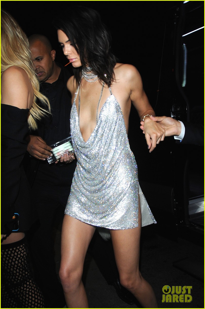 Kendall Jenner 21st Birthday Dress Matched On Purpose 23