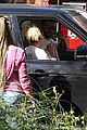miley cyrus liam hemsworth vote from their car 15