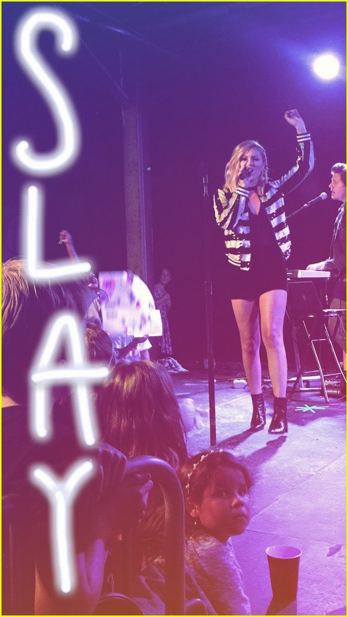 olivia holt houston concert ig takeover 05