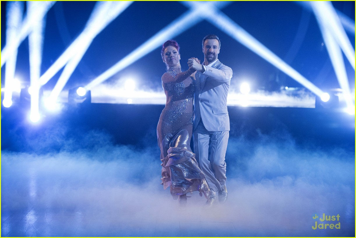 DWTS Sharna Burgess Reveals Knee Injury May Cost Her The