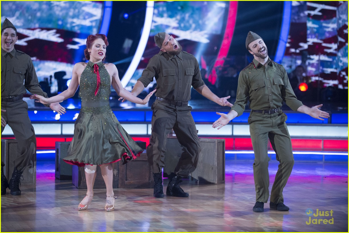 Dancing With the Stars Sharna Burgess Sidelined With Knee