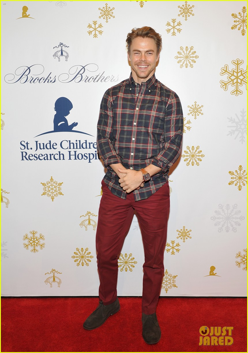 camilla belle jaime king buddy up at brooks brothers holiday event 04
