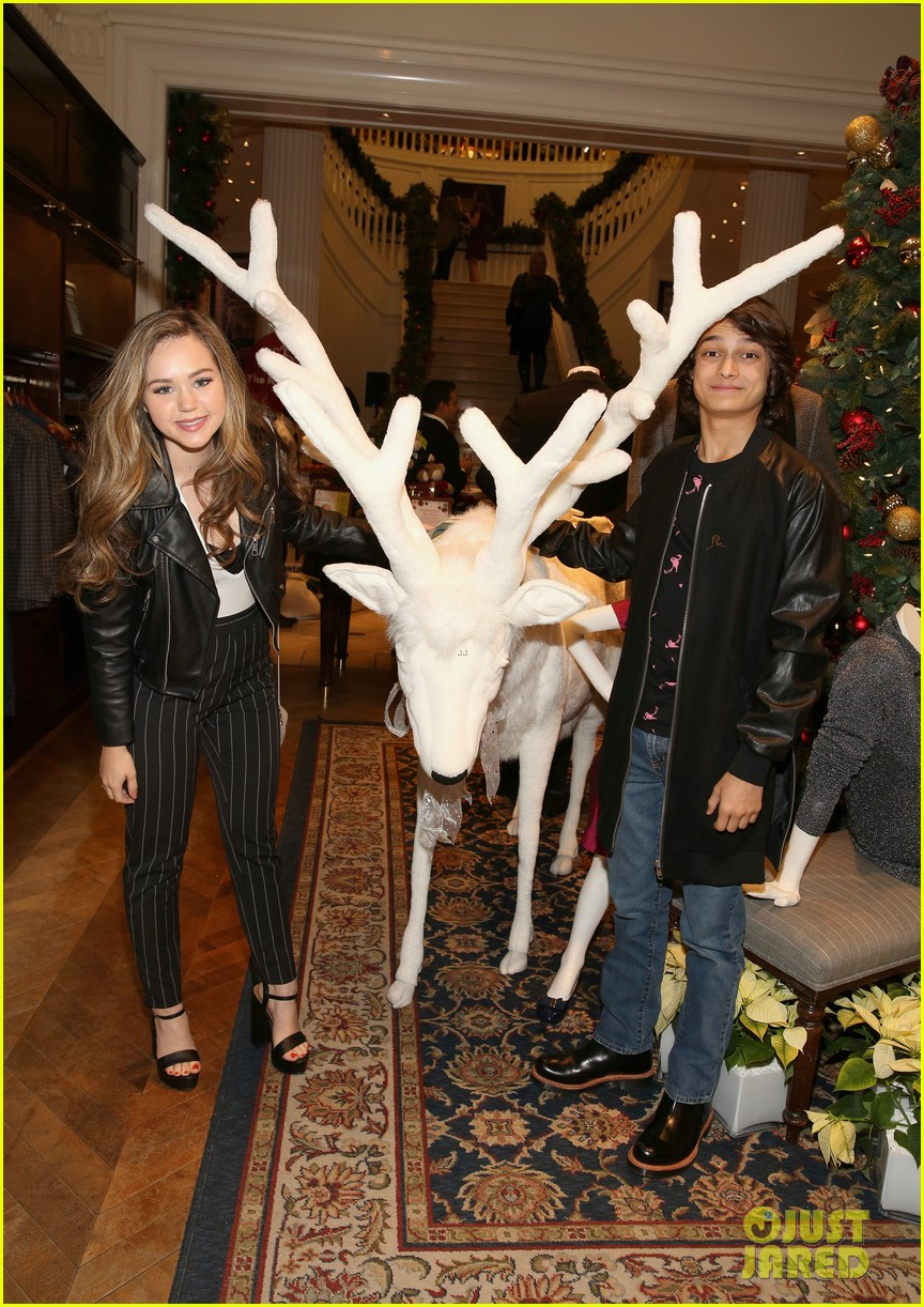 camilla belle jaime king buddy up at brooks brothers holiday event 14