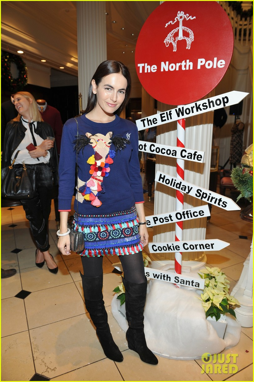 camilla belle jaime king buddy up at brooks brothers holiday event 16