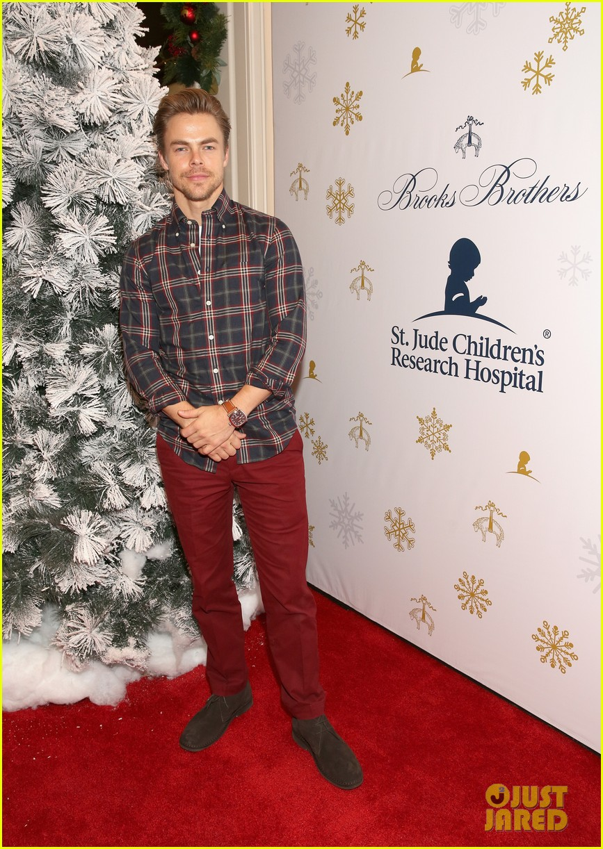 camilla belle jaime king buddy up at brooks brothers holiday event 42