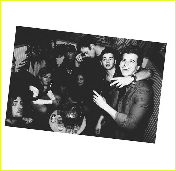 jack griffo 20 birthday party ross lynch 03