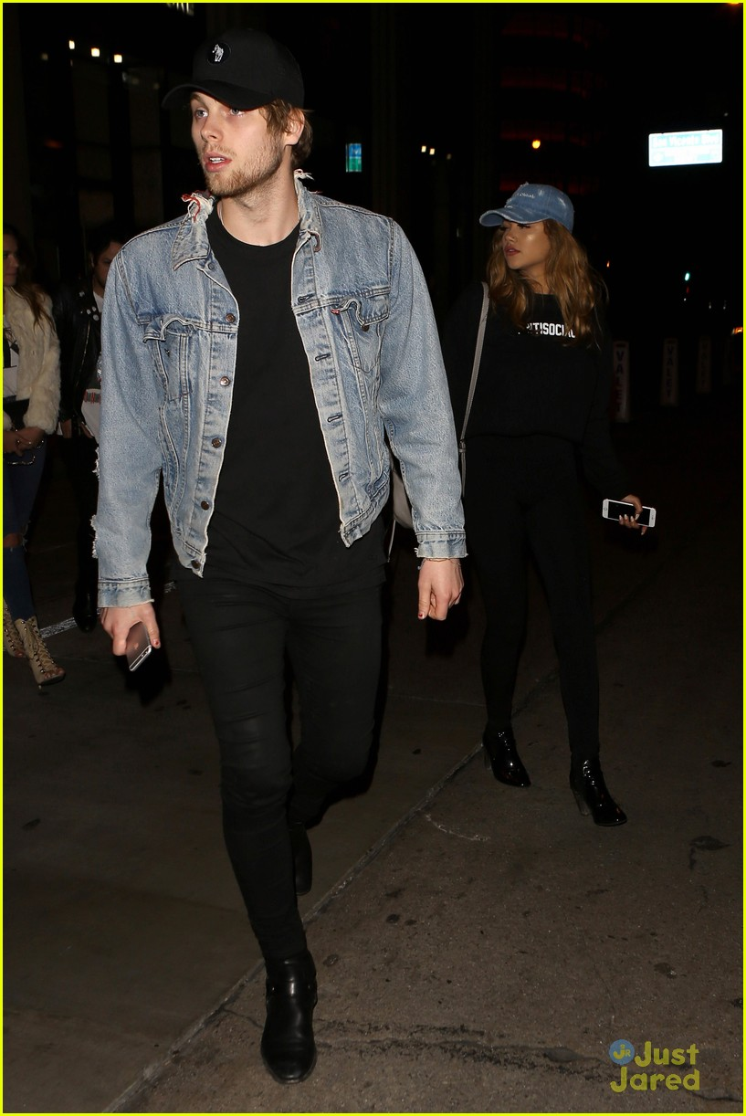 luke hemmings girlfriend arzaylea catch la date 16