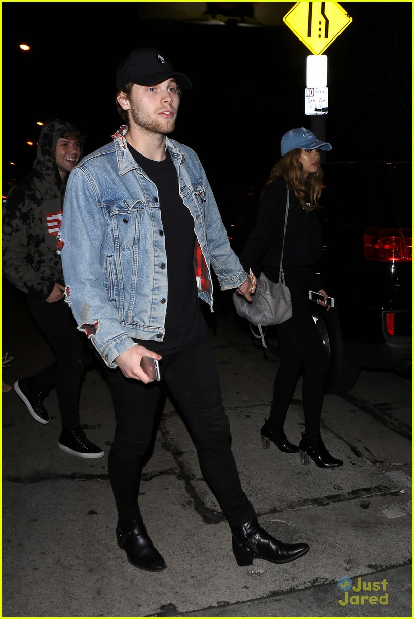 luke hemmings girlfriend arzaylea catch la date 22