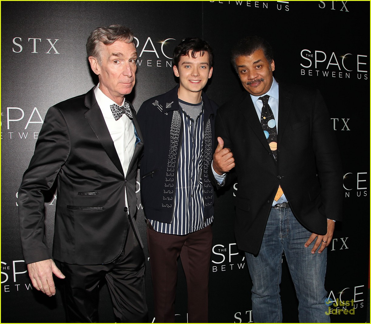 asa butterfield space between ankle weights nyc premiere 02