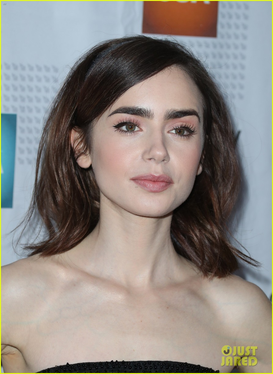 lily collins taissa farmiga and yara shahidi get glam for artios awards 2017 19