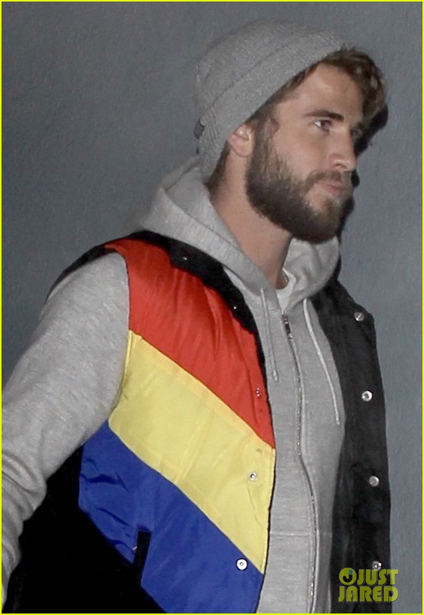 miley cyrus and liam hemsworth celebrate his birthday at flaming lips album release party 09